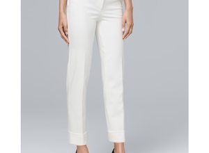 Wearing White Pants In the Fall & Giveaway