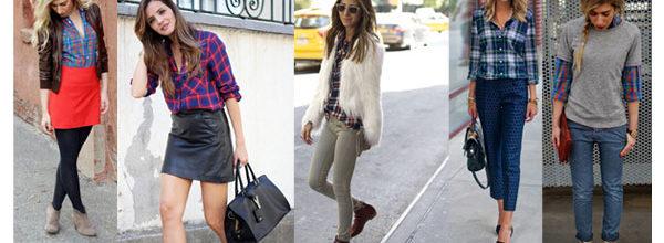 Top 10 Ways to Wear A Plaid Shirt
